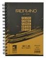 Скетчбук для зарисовок Fabriano Schizzi 21 х 14.8 см (A5), 90 г/м², 60 л.