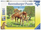 Пазл Ravensburger Лошади в поле (10577), 100 дет.