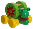 Каталка-игрушка BONDIBON Лягушка-путешественница (ВВ1107)