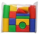Кубики Десятое королевство Набор геометрических фигур 00907