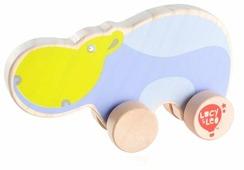 Каталка-игрушка Lucy & Leo Бегемот (LL122)