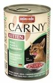 Корм для котят Animonda Carny беззерновой, с курицей, с кроликом, с говядиной (паштет)