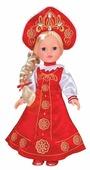 Интерактивная кукла Карапуз Русская Красавица 33 см RUSSIAN-100-RU