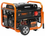 Бензиновый генератор Daewoo Power Products GDA 8500E-3 (7000 Вт)