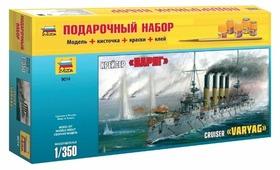 "Сборная модель ZVEZDA Крейсер ""Варяг"" (9014PN) 1:350"