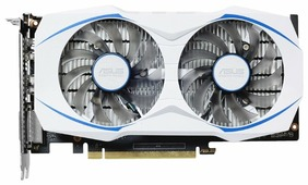 Видеокарта ASUS GeForce GTX 1050 1404Mhz PCI-E 3.0 2048Mb 7008Mhz 128 bit DVI HDMI HDCP Dual OC
