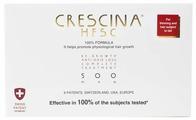 Crescina Ампулы комплекс для мужчин, дозировка 500: существенное выпадение волос