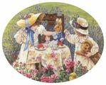 Dimensions Набор для вышивания Afternoon Tea (Полуденный чай) 40,6 х 30,4 см (35152)