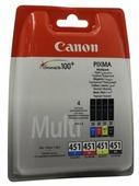 Набор картриджей Canon CLI-451 Multipack C/M/Y/BK (6524B004)