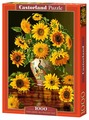Пазл Castorland Sunflowers in a Peacock Vase (C-103843), 1000 дет.