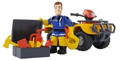 Игровой набор Simba Fireman Sam - Квадроцикл Юпитер 9257657/9251058
