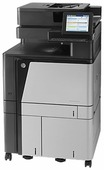 МФУ HP Color LaserJet Enterprise flow MFP M880z+