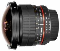 Объектив Samyang 8mm f/3.5 UMC Fish-eye CS II 4/3
