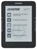 Электронная книга Digma S677