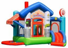 Надувной комплекс Happy Hop Веселый магазинчик 9415