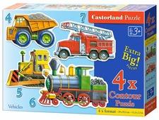Набор пазлов Castorland Vehicles (B-04256)