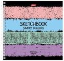 Скетчбук Hatber Simply Colours 17 х 17 см, 120 г/м², 80 л.