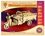 Сборная модель Чудо-Дерево Мотоцикл с прицепом (80064)