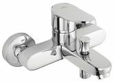 Смеситель для ванны с душем Rubineta Static-10 однорычажный хром
