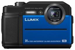 Фотоаппарат Panasonic Lumix DC-FT7 (синий)