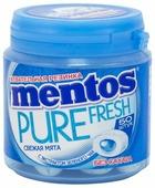 Жевательная резинка MENTOS Pure fresh Свежая мята 100 г