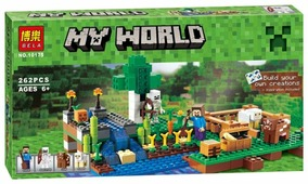 Конструктор BELA My World 10175 Ферма