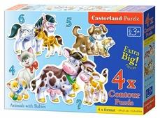 Набор пазлов Castorland Animals with Babies (B-04218)