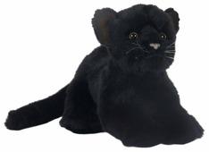 Мягкая игрушка Hansa Детёныш чёрной пантеры 16 см