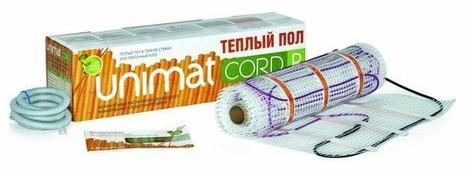 Электрический теплый пол Unimat Cord P 140Вт/м2 4.2м2 588Вт