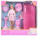 Кукла Defa Lucy Ванная комната 29 см 8215
