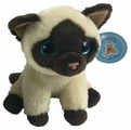 Мягкая игрушка Chuzhou Greenery Toys Сиамский кот 14 см