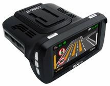 Видеорегистратор с радар-детектором Dixon Combo S7