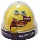 Жвачка для рук NanoGum светится в темноте, желтая, 50 гр (NGYG50)