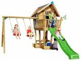 Домик Jungle Gym Crazy Playhouse CXL + Swing Module Xtra