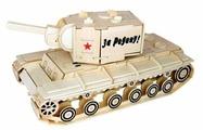 Сборная модель Чудо-Дерево Танк КВ-2 (80034)