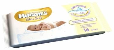 Влажные салфетки Huggies Elite Soft