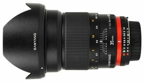 Объектив Samyang 35mm f/1.4 ED AS UMC Four Thirds