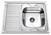 Накладная кухонная мойка Frap F66080