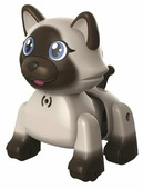 Интерактивная игрушка робот Silverlit LilKittens Бирманский