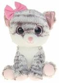 Мягкая игрушка Fancy Кошечка Фенсик серая 23 см