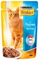 Корм для кошек Friskies с лососем 100 г (кусочки в соусе)