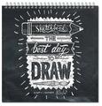 Скетчбук для зарисовок Полином Sketchbook Quadro Bigger 25 х 25 см, 80 г/м², 60 л.