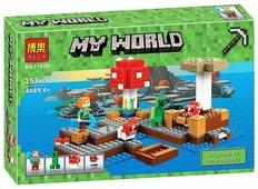 Конструктор BELA My World 10619 Грибной остров