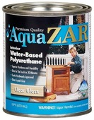 Лак ZAR Aqua Interior Water-Based Polyurethane глянцевый (0.95 л)