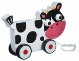 Каталка-игрушка BONDIBON Коровка (ВВ1498)