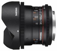 Объектив Samyang 12mm T3.1 VDSLR ED AS NCS Fish-eye Canon EF