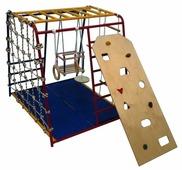 Спортивно-игровой комплекс Вертикаль Веселый малыш со скалодромом