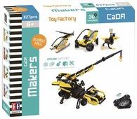 Электромеханический конструктор Double Eagle CaDA Makers C51020W Фабрика игрушек 30 в 1