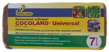 Субстрат кокосовый COCOLAND Universal 7 л.