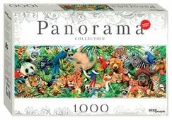 Пазл Step puzzle Panorama Мир животных (79402), 1000 дет.